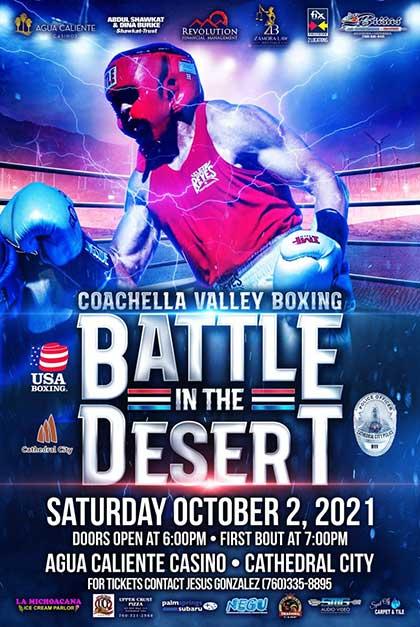 Battle In The Desert Flyer